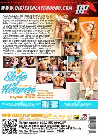 Slice Of Heaven from Digital Playground back cover