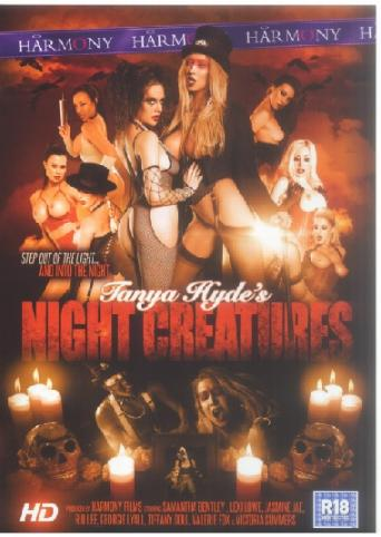 Tanya Hyde's Night Creatures from Harmony front cover