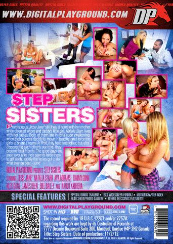 Step Sisters from Digital Playground back cover