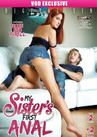 My Sister's First Anal from Digital Sin front cover