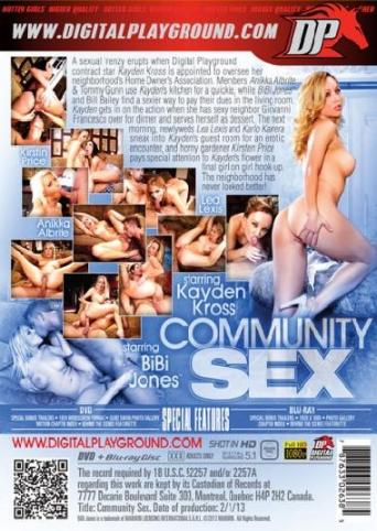 Community Sex from Digital Playground back cover