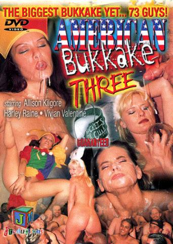 American Bukkake Three from JM Productions front cover