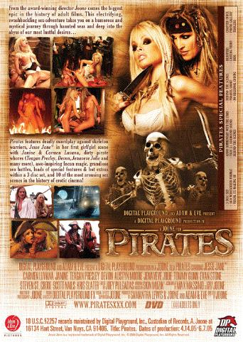 Pirates from Digital Playground back cover