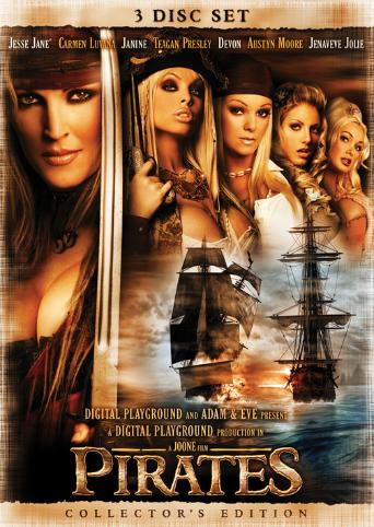 Pirates from Digital Playground front cover