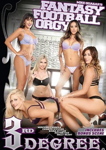 Fantasy Football Orgy from 3rd Degree front cover