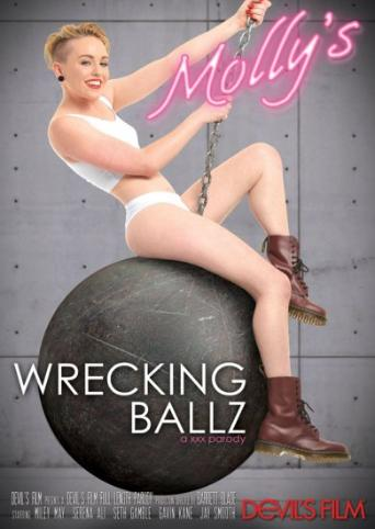 Molly's Wrecking Ballz A XXX Parody from Devil's Film front cover