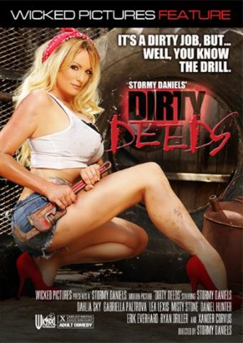 Stormy Daniels' Dirty Deeds from Wicked front cover