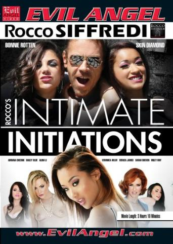 Rocco's Intimate Initiations from Evil Angel: Rocco Siffredi front cover