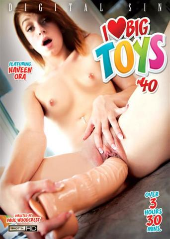 I Love Big Toys 40 from Digital Sin front cover