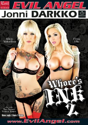 Whore's Ink 2 from Evil Angel: Jonni Darkko front cover