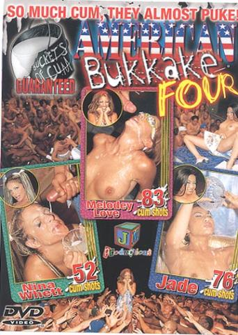 American Bukkake Four from JM Productions front cover