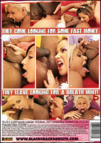 White Chicks Licking Black Crack 2 from JM Productions back cover