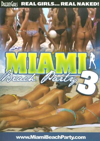 Miami Beach Party 3 from DreamGirls front cover
