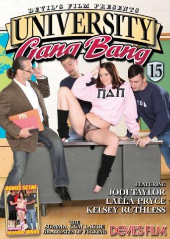 University Gangbang 15 from Devil's Film front cover