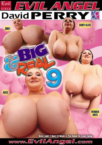 Big And Real 9 from Evil Angel front cover