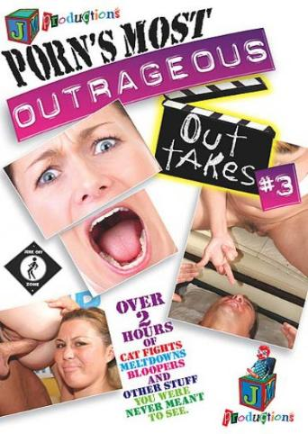 Porn's Most Outrageous Outtakes 3 from JM Productions front cover