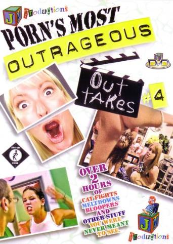 Porn's Most Outrageous Outtakes 4 from JM Productions front cover