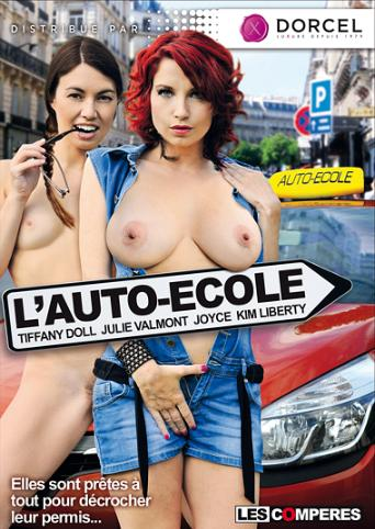 L'auto-Ecole from Marc Dorcel front cover