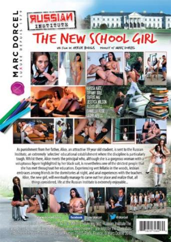 Russian Institute 20 The New School Girl from Marc Dorcel back cover