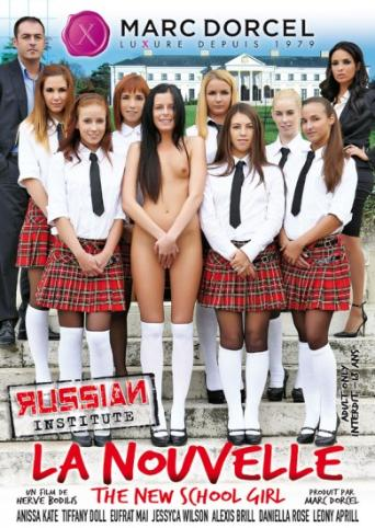 Russian Institute 20 The New School Girl from Marc Dorcel front cover