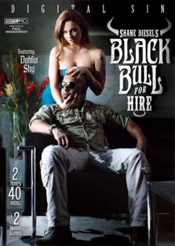 Shane Diesel's Black Bull For Hire from Digital Sin front cover