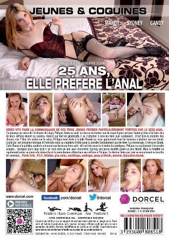 25 Ans Elle Préfère L'anal from Marc Dorcel back cover