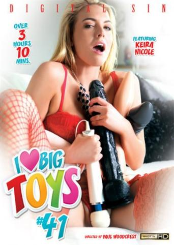 I Love Big Toys 41 from Digital Sin front cover