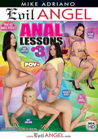 Anal Lessons 3 from Evil Angel: Mike Adriano front cover
