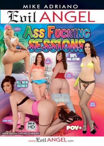 Ass Fucking Sessions from Evil Angel: Mike Adriano front cover