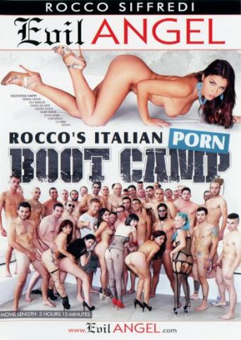 Rocco's Italian Porn Boot Camp from Evil Angel: Rocco Siffredi front cover