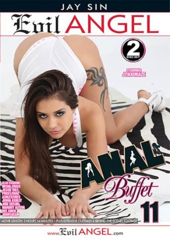 Anal Buffet 11 from Evil Angel: Jay Sin front cover