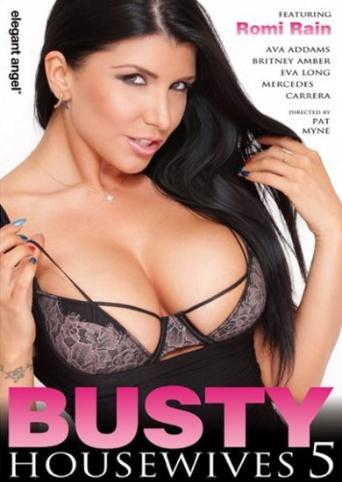 Busty Housewives 5 from Elegant Angel front cover