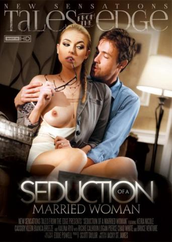Seduction Of A Married Woman from New Sensations front cover