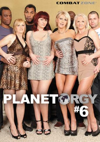 Planet Orgy 6 from Combat Zone front cover