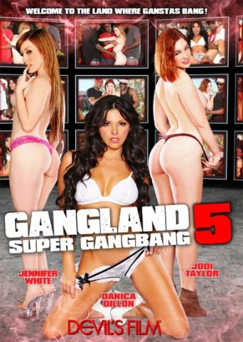 Gangland Super Gangbang 5 from Devil's Film front cover
