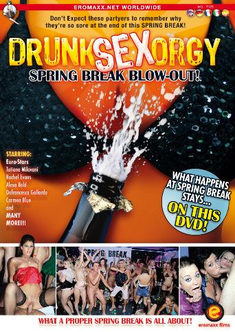 Drunk Sex Orgy Spring Break Blowout