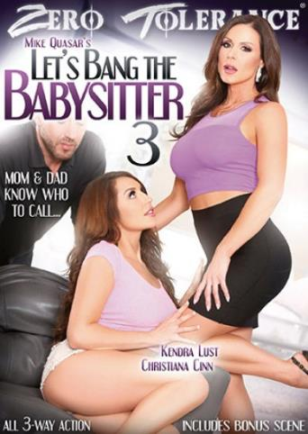 Let's Bang The Babysitter 3 from Zero Tolerance front cover