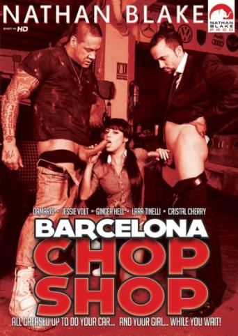 Barcelona Chop Shop from Nathan Blake front cover
