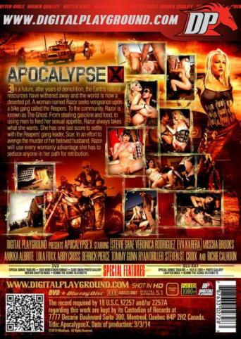 Apocalypse X from Digital Playground back cover