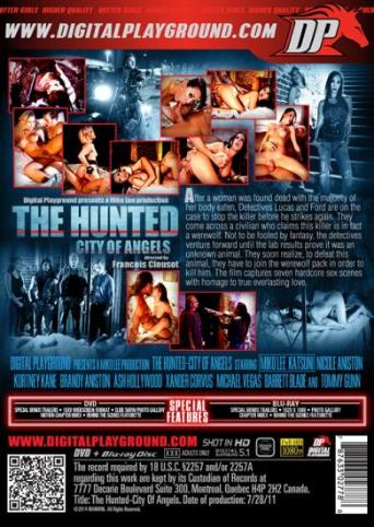 The Hunted City Of Angels from Digital Playground back cover