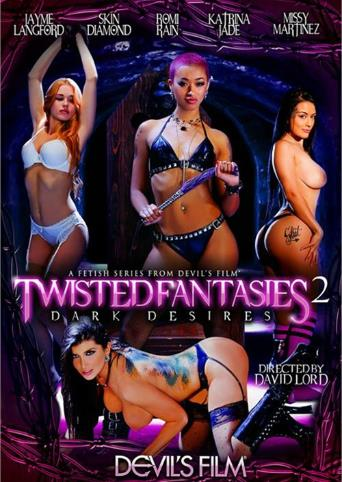 Twisted Fantasies 2 Dark Desires from Devil's Film front cover