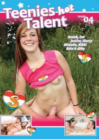 Teenies Hot Talent 4 from Seventeen front cover