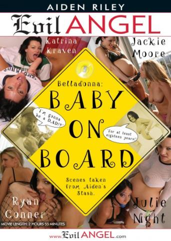 Belladonna Baby On Board from Evil Angel front cover