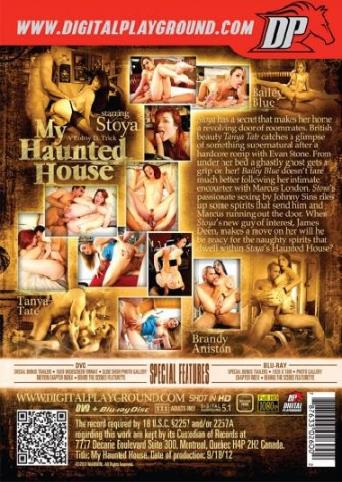 My Haunted House from Digital Playground back cover
