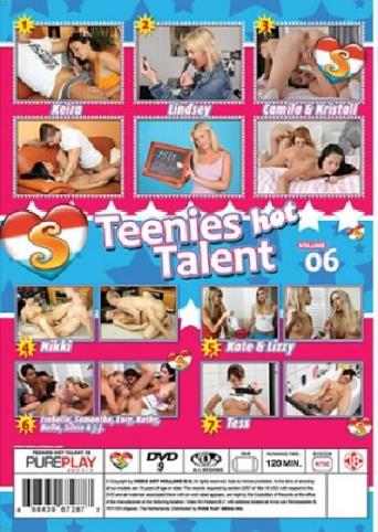 Teenies Hot Talent 6 from Seventeen back cover