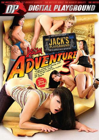 Jack's Asian Adventure 3 from Digital Playground front cover