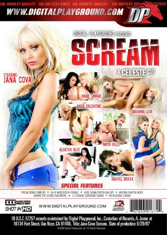 Jana Cova Scream from Digital Playground back cover