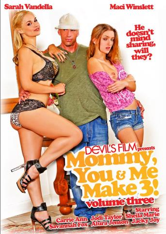 Mommy You And Me Make 3 Vol3 from Devil's Film front cover