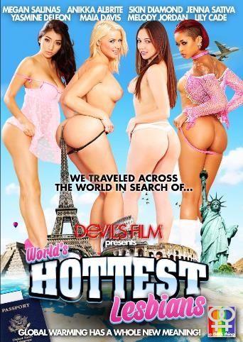 World's Hottest Lesbians from Devil's Film front cover