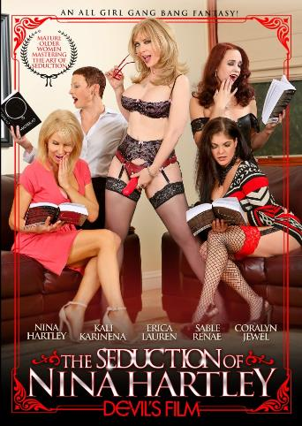 The Seduction Of Nina Hartley from Devil's Film front cover